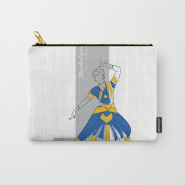 Bharatanatyam Carry-All Pouch