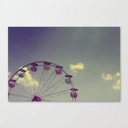 Half Wheel Canvas Print