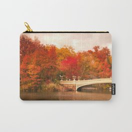 New York City Autumn Magic in Central Park Carry-All Pouch