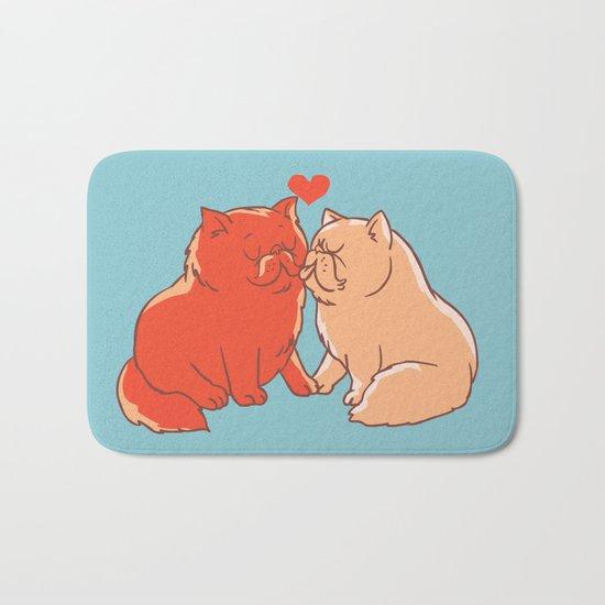 Cat Kisses Bath Mat