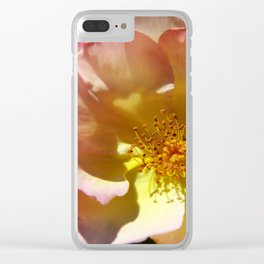 Prettyness Of A Rose Clear iPhone Case