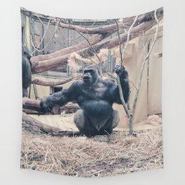 Gorilla Wall Tapestry