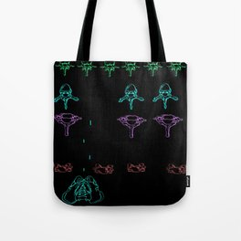 Bone Invaders Tote Bag