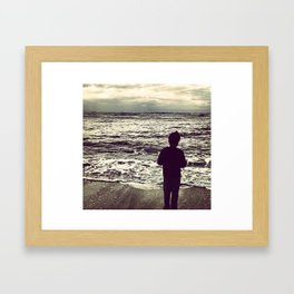 See It Framed Art Print