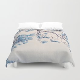 blue friday Duvet Cover