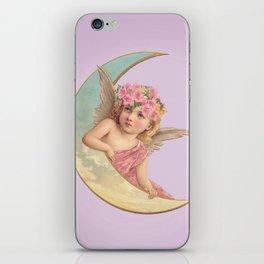 Victorian Moon Angel iPhone Skin