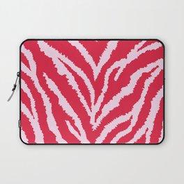 Red zebra fur texture Laptop Sleeve
