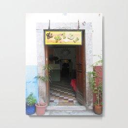 Door No. 15 in Guanajuato, Mexico (2005) Metal Print