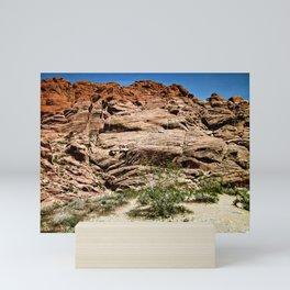 Red Rocks I Mini Art Print
