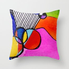 Magical Thinking 7A6 by Kathy Morton Stanion Throw Pillow