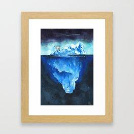 I'm Used To It - Print Framed Art Print