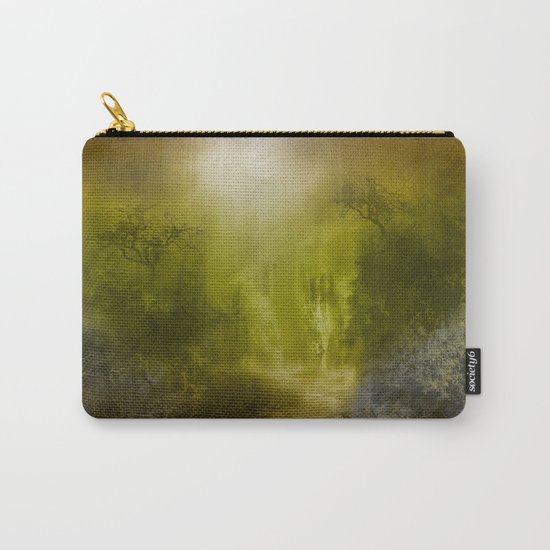 gold forest landscape Carry-All Pouch