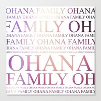 ohana Canvas Prints featuring Ohana by Indulge My Heart