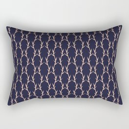 Bursting Bamboo Rectangular Pillow