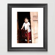 Mexican Boy Framed Art Print