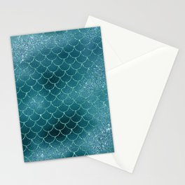 Mermaid Scales Stationery Cards