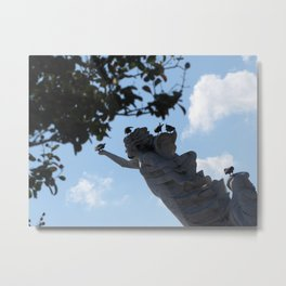 Finding A Safe Place Metal Print