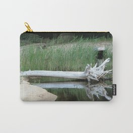 Draft Wood Carry-All Pouch