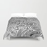 doodle Duvet Covers featuring Doodle by Emerald Vallee