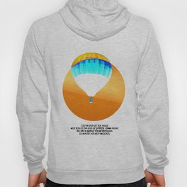 Cold Hot Air Balloon 2 Hoody