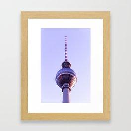 Berlin TV Tower (Fernsehturm) Framed Art Print