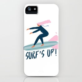 Surf's up! iPhone Case
