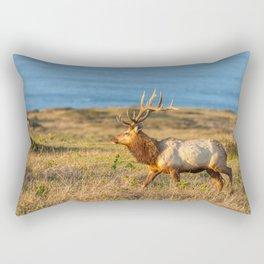 Tule Elk Bull Rectangular Pillow