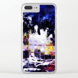 flash night Clear iPhone Case