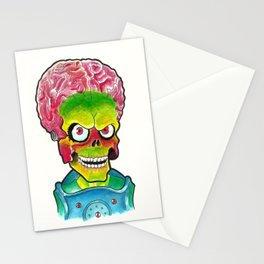 The Martian Ack! Stationery Cards