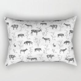 Scandinavian animals Rectangular Pillow