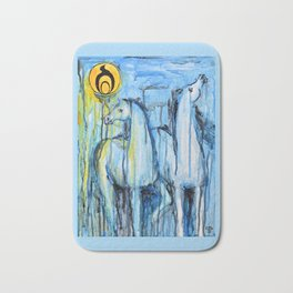 Empowerment: Spirit Horses Rise Bath Mat