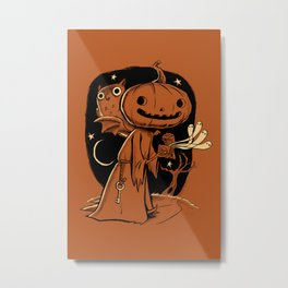 Hallowe'en Box Metal Print