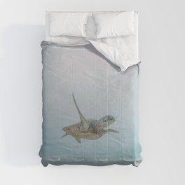 sea turtle iii Comforters