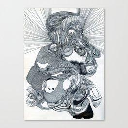 FOSSIL HOOKER Canvas Print