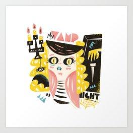 My vamp night Art Print
