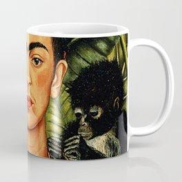 Frida Kahlo Cat Coffee Mug