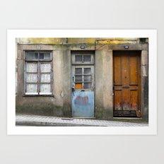Portugal Doors 3 Art Print