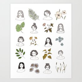 BINGO Art Print