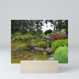 Japanese Garden Lantern Mini Art Print