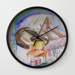 Consuming Positivity Wall Clock