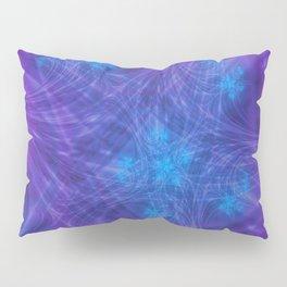 Mitosis in Purple Pillow Sham