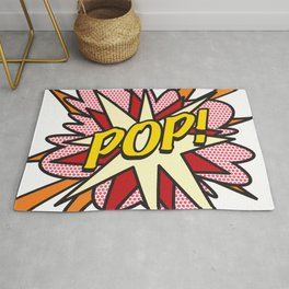 Comic Book Pop Art POP! Rug