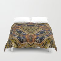 hippy Duvet Covers featuring Hippy by RingWaveArt