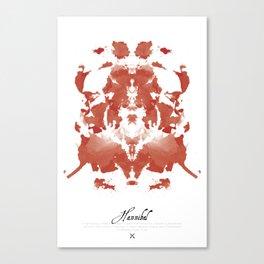 Hannibal Poster Canvas Print