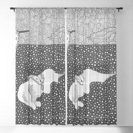 Salvador Dalí - Persistence of memory Sheer Curtain