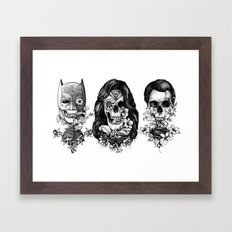 World Finest Series. Framed Art Print