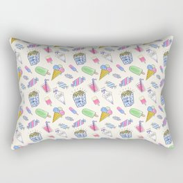 Popart candy and ice-cream Rectangular Pillow