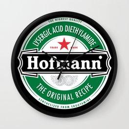 Albert Hofmann LSD Beer Label Wall Clock