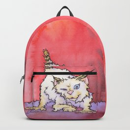 Scream the Cat Backpack