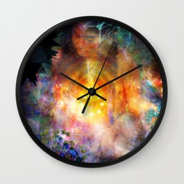 Extra Sensory Perceptions Wall Clock